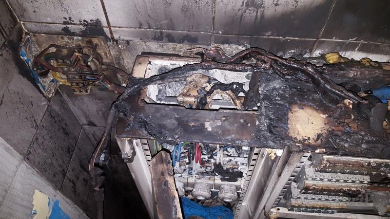 Investigation après incendie